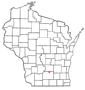 map of DeForest